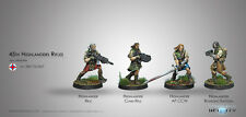 """Infinity Ariadna BNIB 45th Highlander Rifles """"Galwegian"""" 280172-0527"""