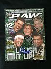 SPIRIT SQUAD SIGNED WWE RAW MAGAZINE ALL 5 MEMBERS DOLPH ZIGGLER