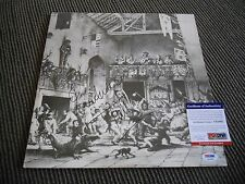 Jethro Tull Ian Anderson Minstrel Gallery IP Signed Autographed LP PSA Certified