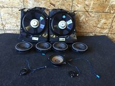 BMW OEM F30 F31 320I D&M AUDIO SOUND SYSTEM SPEAKER SPEAKERS TWEETERS SUBWOOFERS