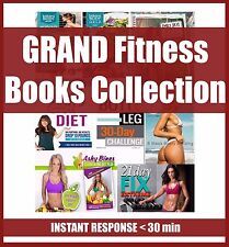 HUGE Collection - 125 BOOKS including Kayla Itsines and Tone It Up