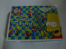 The Simpsons 3-D Chess
