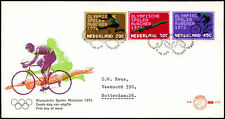 Netherlands 1972, Olympic Games FDC First Day Cover #C27497