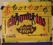 chiquititas 5 envelopes stickers from argentina 1997