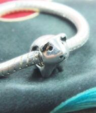 .925 SILVER BEAD EUROPEAN CHARM FOR BRACELET Guinea pig lab rat hampster #A16