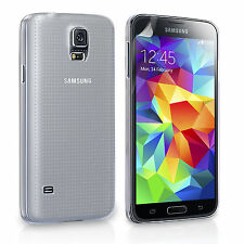 New Samsung Galaxy S5 Silicone Gel Case – Clear Uk Stock