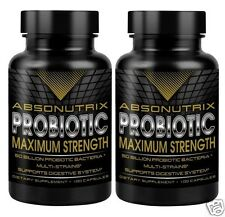 Absonutrix Probiotic Max 50 Billion Multi Strains 100 Capsules Deal 2 bottles