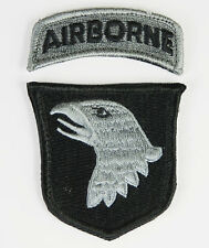 US 101ST AIRBORNE ARM BADGE  PATCH-32626