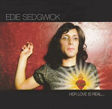 Edie Sedgwick Her Love Is Real But She Is Not 14 track 2005 cd NEW!