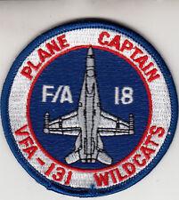 VFA-131 WILDCATS PLANE CAPTAIN SHOULDER PATCH