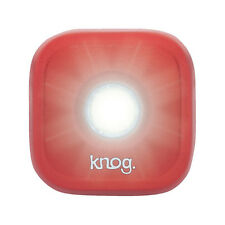 Knog Blinder 1 LED Rechargeable Front Light Red | Road Bike MTB Bicycle Fixie