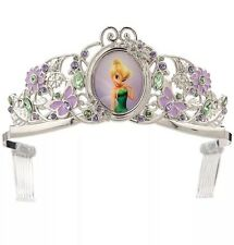 New Disney Store Tinker Bell Fairy Tiara Costume Crown Girls  Headband Fairies