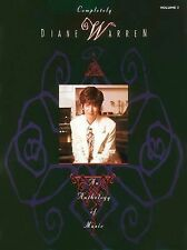 Completely  by Diane Warren   An Anthology Of Music, Volume 2 Piano/Vocal/Guitar