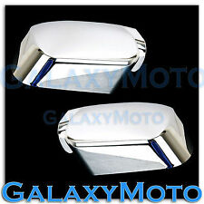 Triple Chrome Kit ABS Mirror Cover - a pair for 04-12 Nissan Armada+Titan