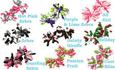 "Lot of (24) 3"" Korker Hair Bows - You Pick Colors!  Sold in Pairs - 1 Dozen"