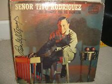 Tito Rodriguez- Señor Tito Rodriguez - TICO Blak Label LP in Great Condition L4