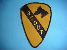 "VIETNAM WAR YE PATCH, US 1st CAVALRY DIVISION "" SCOUT """