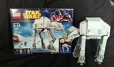 Lego Star Wars AT-AT Walker 75054 Minifigure Poster Box Instruction Complete Set