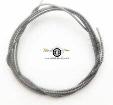5' BCY Silver/Black Speckled D Loop Rope Archery Bowstring Rope Drop Away