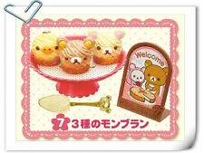 Re-ment Sanrio Miniature Rilakkuma Cake Shop Fluffy Dessert Cafe Cake No.7