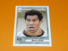 N°161 MIKA CA BRIVE CORREZE LIMOUSIN PANINI RUGBY 2007-2008 TOP 14 FRANCE