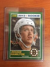 2013/14 Score #12 Dougie Hamilton Bruins Rookie RC SP SSP Only 1 on EBAY