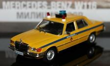 DeAgostini 1:43 Mercedes-Benz 450 SEL police USSR ser Police cars of the world