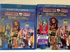 MONSTER HIGH - CITY OF FRIGHTS (Bluray/DVD, 2012)