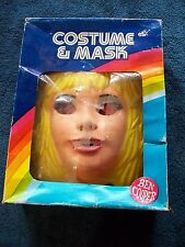 VINTAGE BARBIE & THE ROCKERS BEN COOPER HALLOWEEN COSTUME W/ BOX SIZE 8-10 NEW