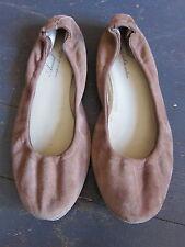 Anniel Brown Suede Ballet Flat Women's Size 8