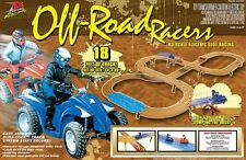 Life-Like ATV OFF-ROAD RACERS HO Slot Car SET Fast Trackers 9087 433-9087 NEW!