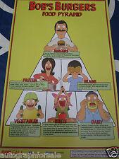 Bob's Burgers 2014 San Diego Comic-Con SDCC exclusive 11x17 mini promo poster MT