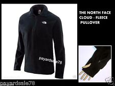 THE NORTH FACE BLACK FLEECE PULLOVER MEN'S SIZE MEDIUM - CLOUD 1/4 ZIP JACKET