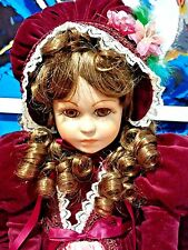 """Williamsburg Factory Vintage Lady Anne LE Michelle 20"""" Porcelain Vinyl Doll MIB"""