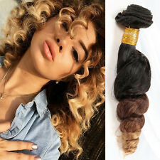 "14"" Brazilian Ombre Remy Loose Wave Unprocessed Human Hair Extensions 50g"