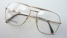 Oversized Brillenfassung eckig kastig robust Metallgestell Herren unigold GR.M