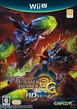 USED Wii U Monster Hunter 3 Tri G HD  JAPANESE  IMPORT NINTENDO