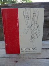 Drawing: Ideas, Materials, and Techniques by Gerald F. Brommer (1972, Book,...