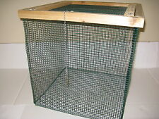 """2' ft. BEST Floating Live Fish Well Basket with 1/2"""" wire (Keep Fish Alive) Cage"""