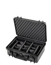 Fotokoffer Kamerakoffer, Fachteilung, Outdoor Case 465x365x175, wasserdicht, Top