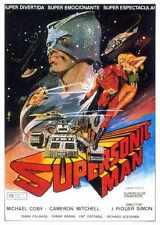 Supersonic Cartel de hombre 01 A3 Caja Lona Impresión