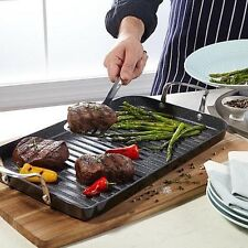 Curtis Stone DuraPan Nonstick Double Burner Grill Pan