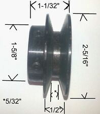 """Siemens Energy & Automation V-Belt Pulley. 7/8"""" bore, 2.3"""" OD"""