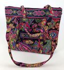 Vera Bradley ViILLAGER tote/bag In Retired Symphony In Hue Sold Out Online.SALE!