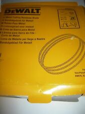 dewalt elu genuine accessories bandsaw blade thick metal cutting dw876 ebs3601