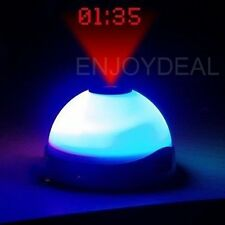 Color Change Projection Clock Time Projector Digital LED Clock Night Light
