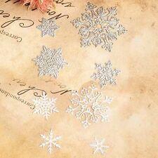 4X Snowflake Die Cutting Dies Stencil DIY Scrapbooking Craft Card Paper Decor