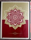Obey Holiday Mandala ornament print by Shepard Fairey signed and numbered