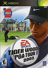 Tiger Woods PGA Tour 2003 Xbox COMPLETE