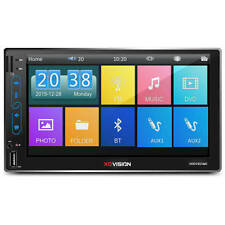 "XO VISION 7"" IN-DASH BLUETOOTH USB SD CARD TOUCHSCREEN MULTIMEDIA CAR RECEIVER"